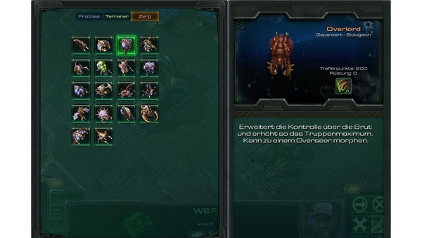 Screenshot zu StarCraft 2 - Die Einheiten