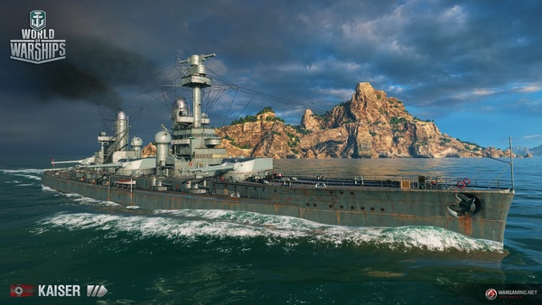 Screenshot zu World of Warships - Artworks und Konzeptzeichnungen
