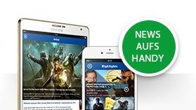 News aufs Handy Apple & Android
