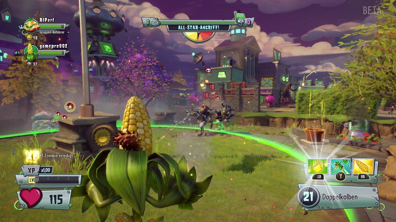 Plants Vs Zombies Garden Warfare 2 Grau Gr N Gaudi Gamestar