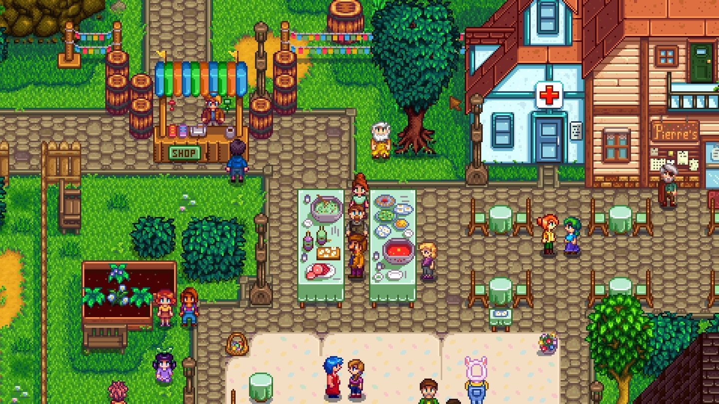 how to create a stardew valley multiplayer game