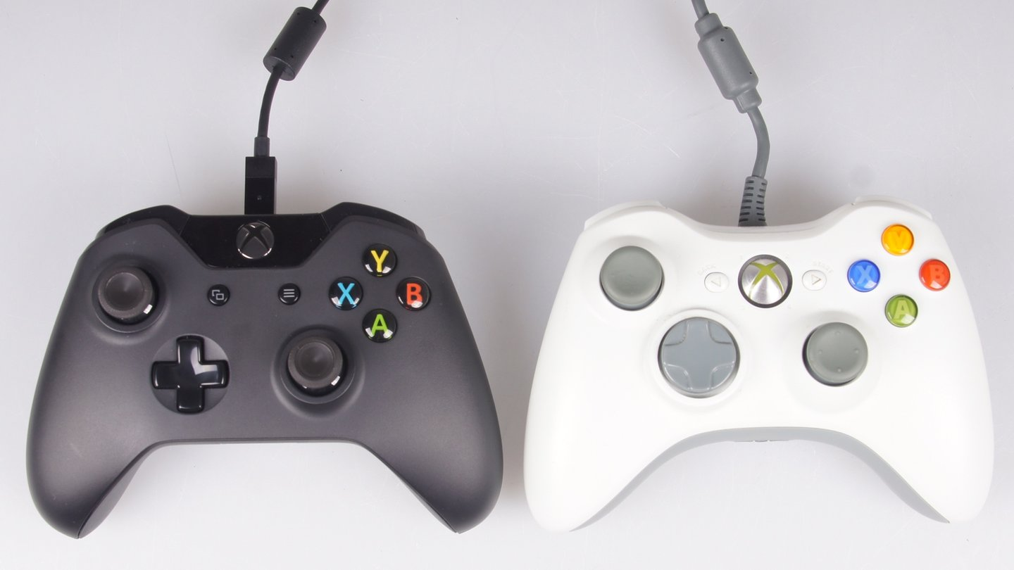microsoft xbox one controller besser als das xbox 360. Black Bedroom Furniture Sets. Home Design Ideas