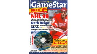 <b>GameStar 11/1997</b><br>NHL 98 im Mega-Test und allem über die besten Spielzüge. Außerdem: Previews zu Fifa 98, Populous 3, Oddworld und Half-Life sowie Tests zu Shadows of the Empire, Turok, Virtua Fighter, Worms 2 und Virtua Fighter 2. Im Report: Diablo 2.