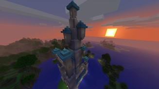 Minecraft Toadstool Tower 03