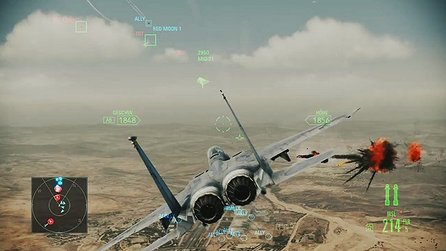 Ace Combat: Assault Horizon - Test-Video des Luftkampf-Actionspiels