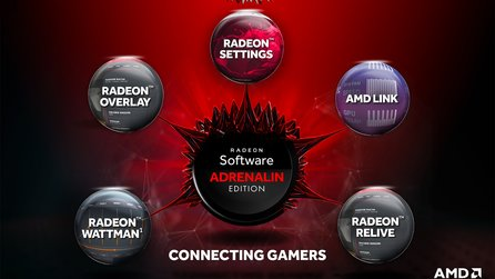Radeon Software Adrenalin Edition - AMD-Treiber mit starken neuen Features