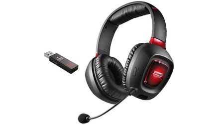 Amazon Blitzangebote am 19. Januar - Sound Blaster Tactic3D Wireless Headset, Sound BlasterX Katana