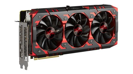Powercolor Radeon RX Vega 56 Red Devil - Von Haus aus laut, per Switch leise