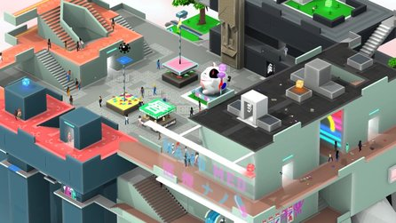 Tokyo 42 - Multiplayer-Trailer zum kleinsten Open World-Shooter der Welt