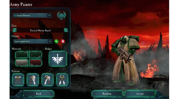 <b>Dawn of War 2: Retribution </b><br> Screenshots aus dem Dark Angels-DLC