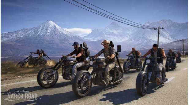 <b>Ghost Recon Wildlands</b><br>Screenshots aus dem DLC »Narco Road«