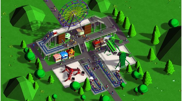 Parkitect - Screenshots aus der Alpha