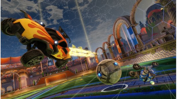 <b>Rocket League</b><br>Screenshots aus dem DLC »Revenge of The Battle Cars«