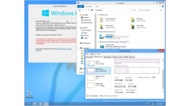 Windows Blue Build 9364 Leak