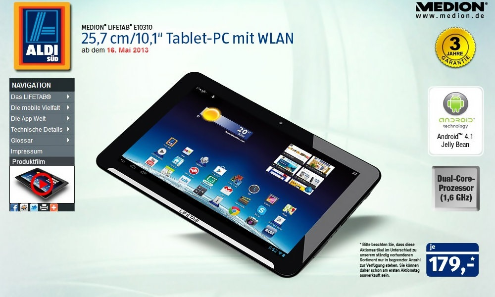 Tablet Topliste