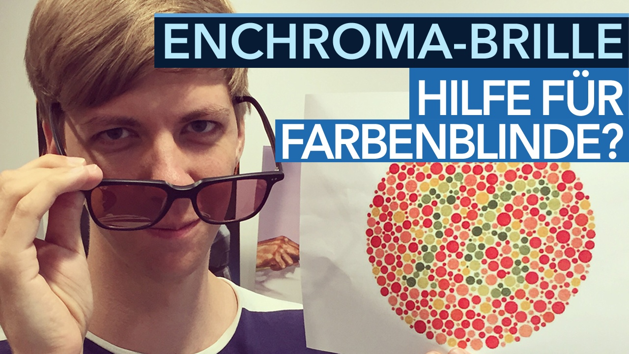 enchroma brille im test video hilfe f r farbenblinde. Black Bedroom Furniture Sets. Home Design Ideas