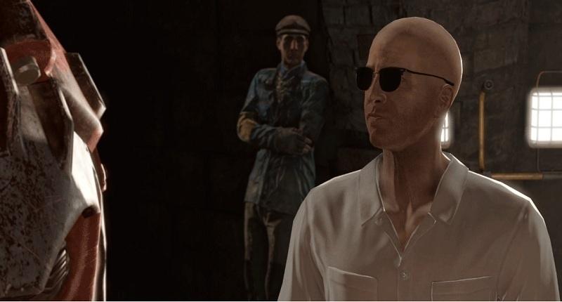 Ohne Ini-Eintrag leuchten die Charaktere im Dunkeln.