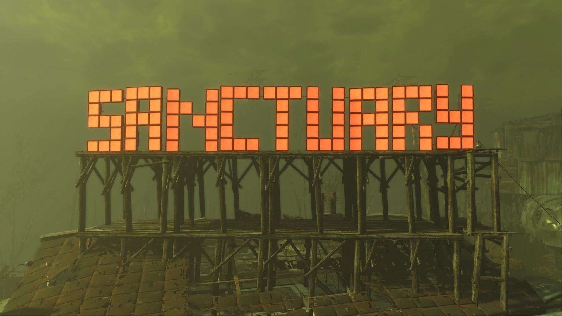 Wer sich das Massive Sanctuary City-Savegame runterlädt, lebt bald in einer echten Metropole.