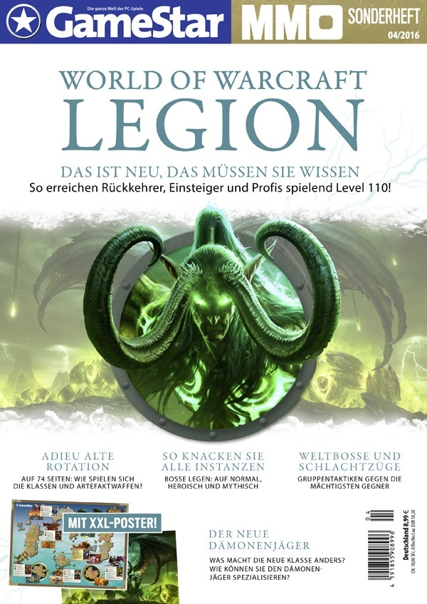 GameStar-Sonderheft - World of Warcraft: Legion