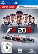 Cover zu F1 2016 - PlayStation 4