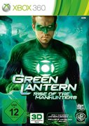 Cover zu Green Lantern: Rise of the Manhunters - Xbox 360