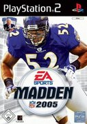Cover zu Madden NFL 2005 - PlayStation 2