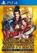 Cover zu Nobunaga's Ambition: Sphere of Influence - PlayStation 4