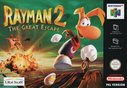 Cover zu Rayman 2: The Great Escape - Nintendo 64