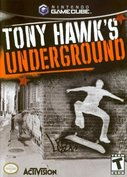 Cover zu Tony Hawk's Underground - GameCube