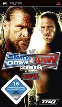 Cover zu WWE Smackdown vs. RAW 2009 - PSP