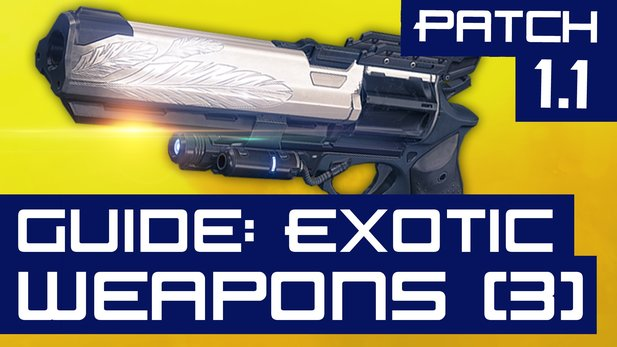 All About: Destiny (Folge 09) - Exotic Weapon-Guide nach Patch 1.1 (Teil 3)