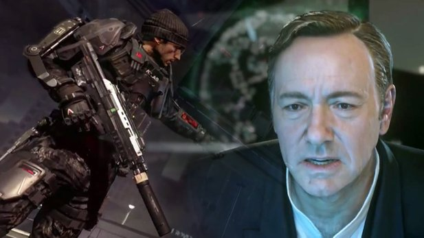 Call of Duty: Advanced Warfare - Debüt-Trailer mit Mechs, Hoverbikes & Cyber-Anzügen