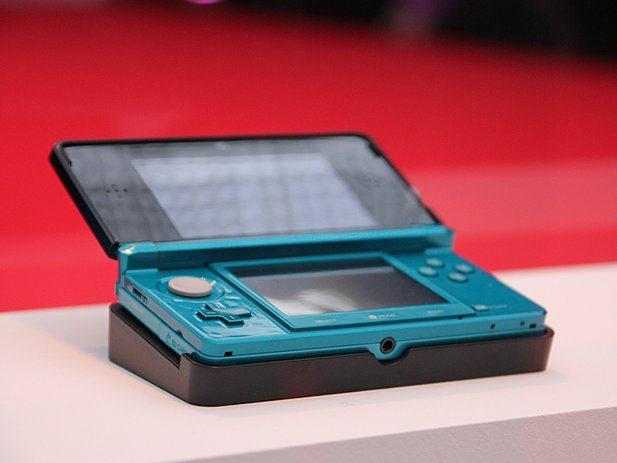Der 3DS in Aqua Blue...