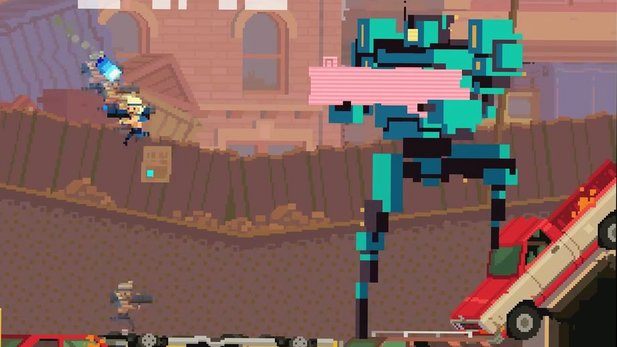 Super Time Force - Gameplay-Trailer: »Sloooowww Motion«