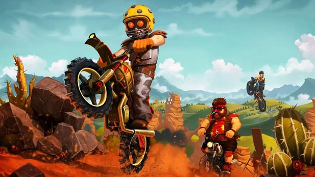 Gameplay-Video von Trials Frontier