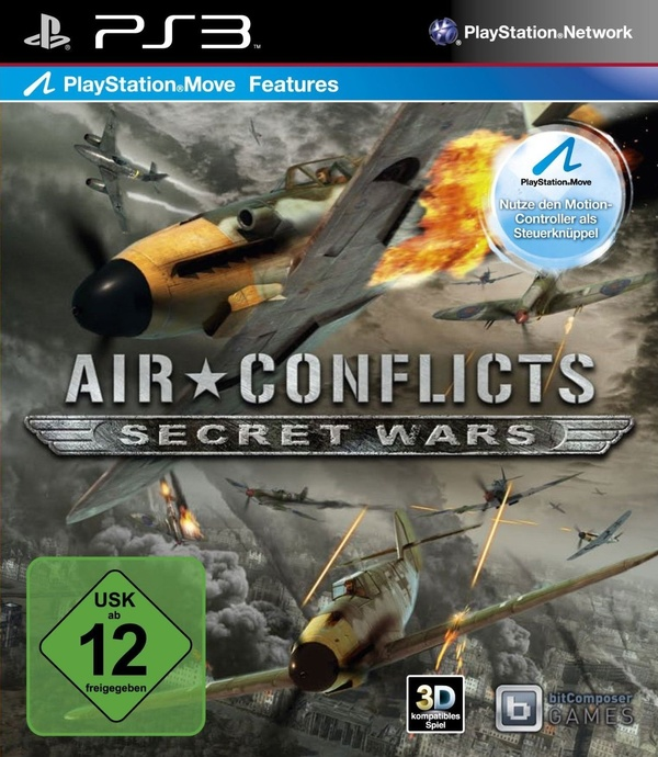 Cover zu Air Conflicts: Secret Wars