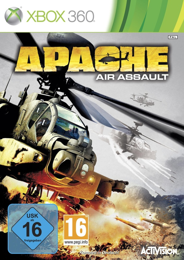 Cover zu Apache: Air Assault