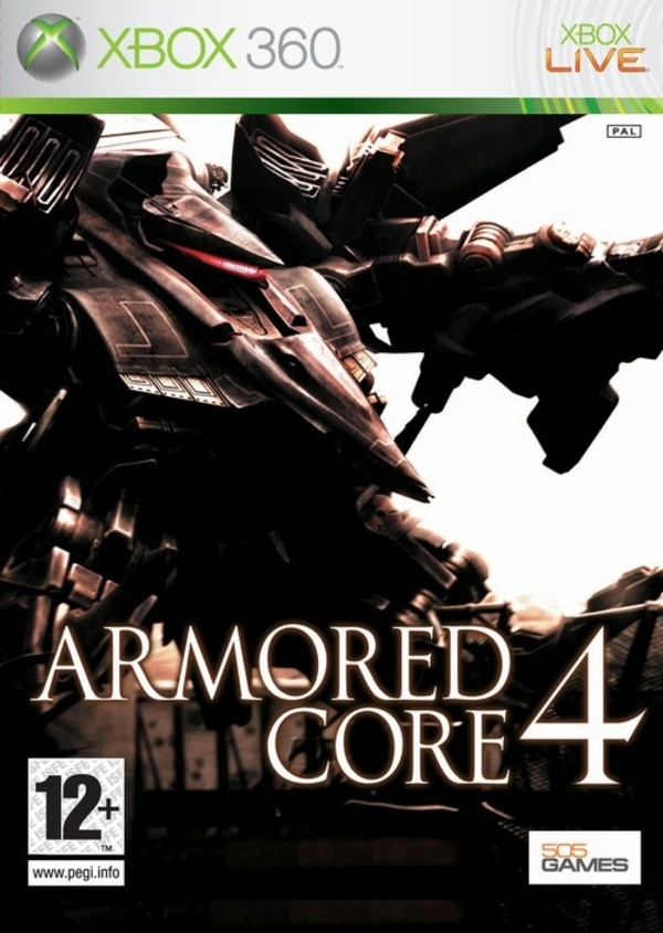 Cover zu Armored Core 4