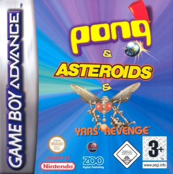 Cover zu Asteroids / Pong / Yar's Revenge