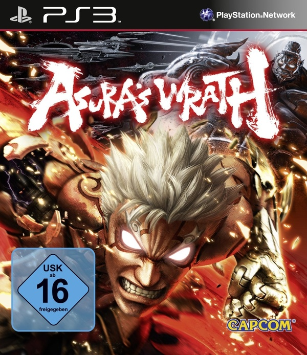 Cover zu Asura's Wrath