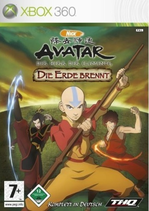 Cover zu Avatar: The Burning Earth