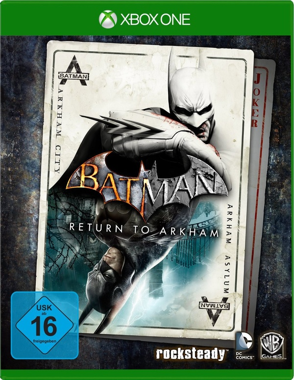 Cover zu Batman: Arkham City