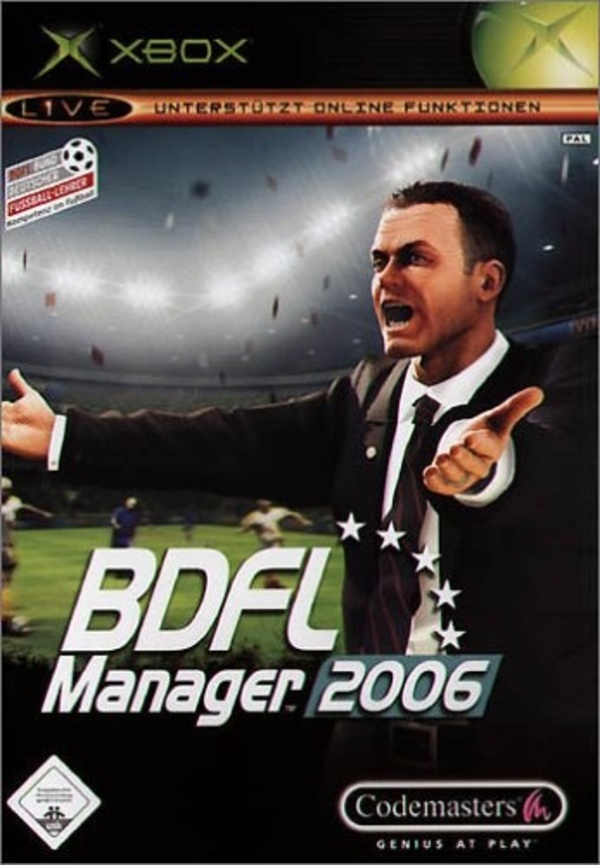 Cover zu BDFL Manager 2006