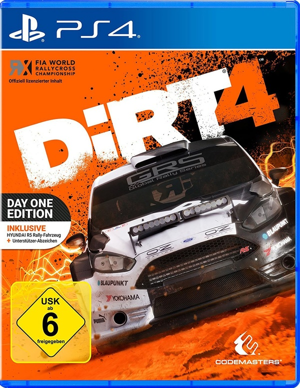 Cover zu DiRT 4