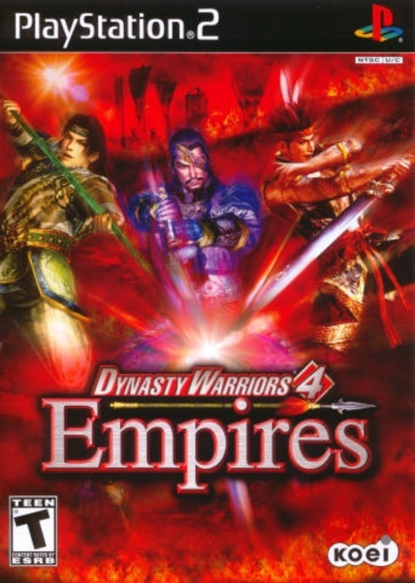 Cover zu Dynasty Warriors 4: Empires