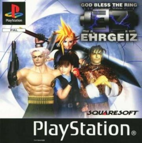 Cover zu Ehrgeiz: God Bless the Ring