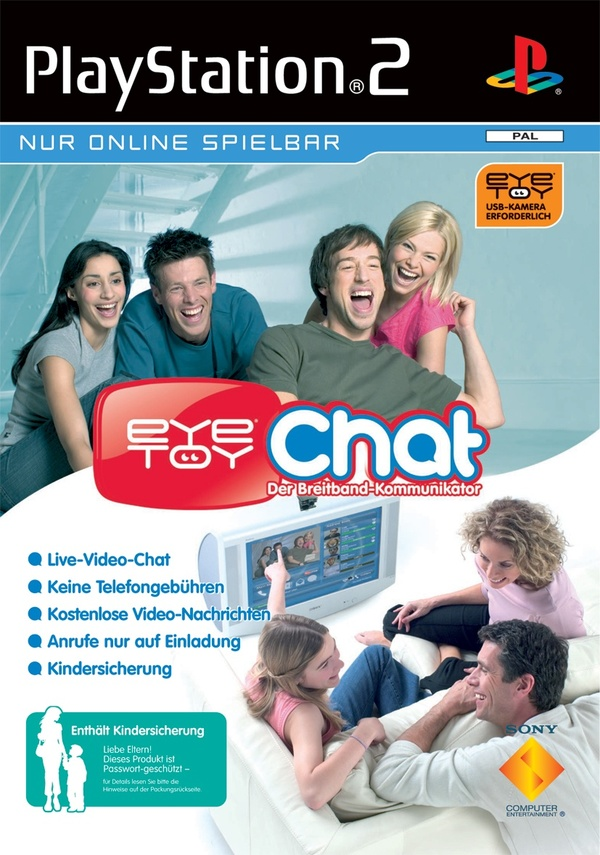 Cover zu EyeToy: Chat