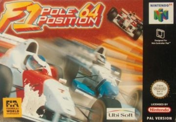 Cover zu F1 Pole Position 64