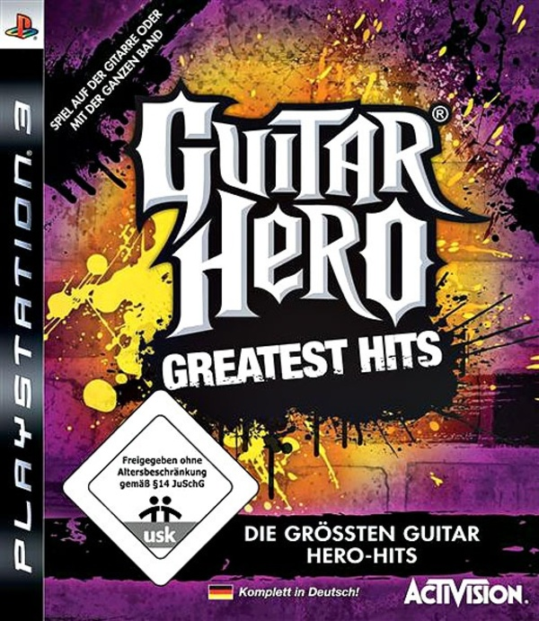 Cover zu Guitar Hero: Greatest Hits