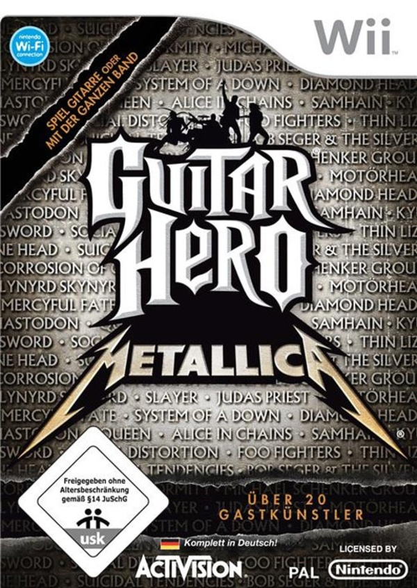Cover zu Guitar Hero: Metallica